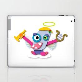 Pastel-Colored Kawaii Cartoon Christmas Angel Laptop & iPad Skin