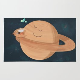Best Hug Ever: Cassini's Grand Finale Rug
