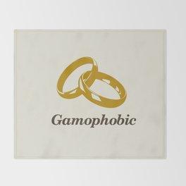 Gamophobic Throw Blanket