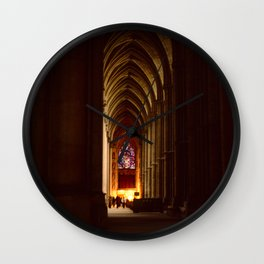 Chartres Cathedral Wall Clock