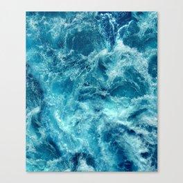 Ocean is shaking Canvas Print