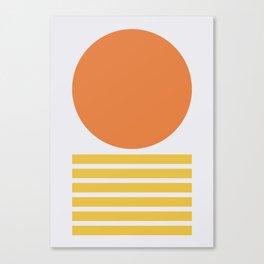 Geometric Form No.5 Canvas Print