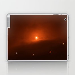 Solar Eclipse over Somerset, 2015 Laptop & iPad Skin
