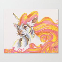 Chihuacorn Canvas Print