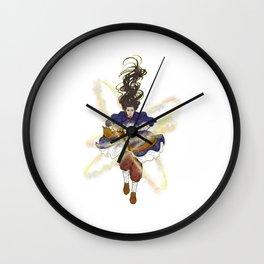 Ancient magician Wall Clock