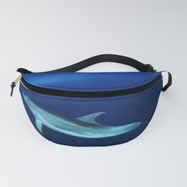 Dolphin and blues Fanny Pack