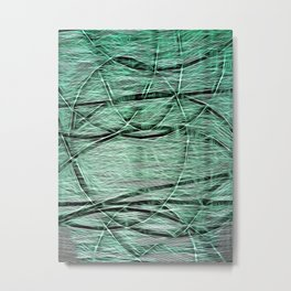 Emerald Excess Metal Print