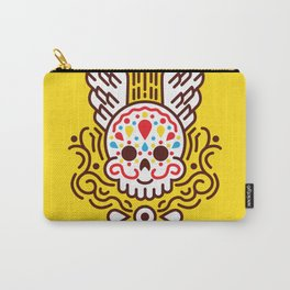 Minimal Skull Carry-All Pouch
