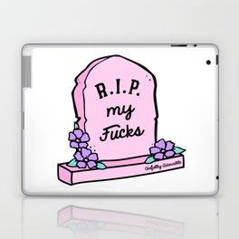 R.I.P. My Fucks Laptop & iPad Skin