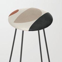 Geometric Modern Art 30 Counter Stool