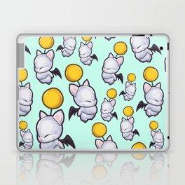 Wind-Up Moogles on Mint Green Laptop & iPad Skin