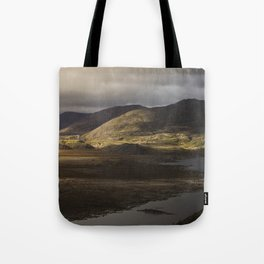 Clouds, Land, Water Tote Bag