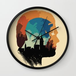 The Many Faces of Cinema: Inception Wall Clock