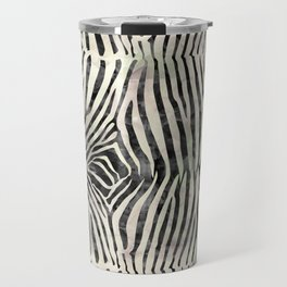Zebra Print Travel Mug