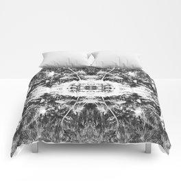Black n White Boho Pattern Comforters