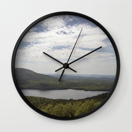 View from Acadia National Park Wall Clock
