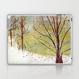 Spring Snow in Dewdrop Holler Laptop & iPad Skin