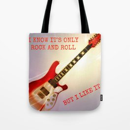 Only Rock + Roll Tote Bag