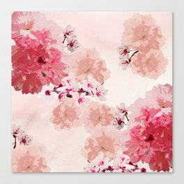 Floral Rage Canvas Print