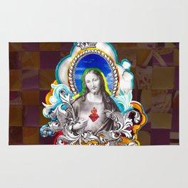 Sagrado Coração de Jesus (Sacred Heart) #1 Rug
