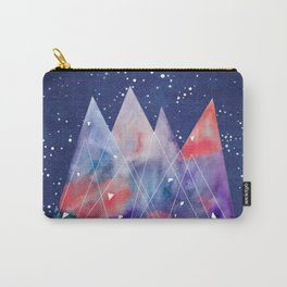 Mountains by night Carry-All Pouch