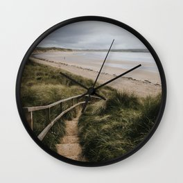 A day at the beach - Landscape and Nature Photography Wall Clock
