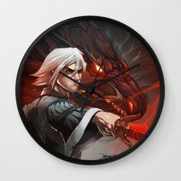Crimson Legends Wall Clock