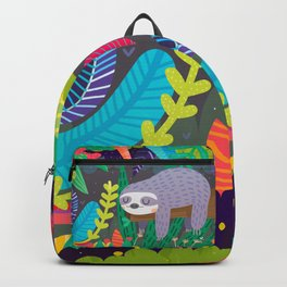 Sloth in nature Backpack