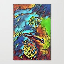 tiburon de melon Canvas Print