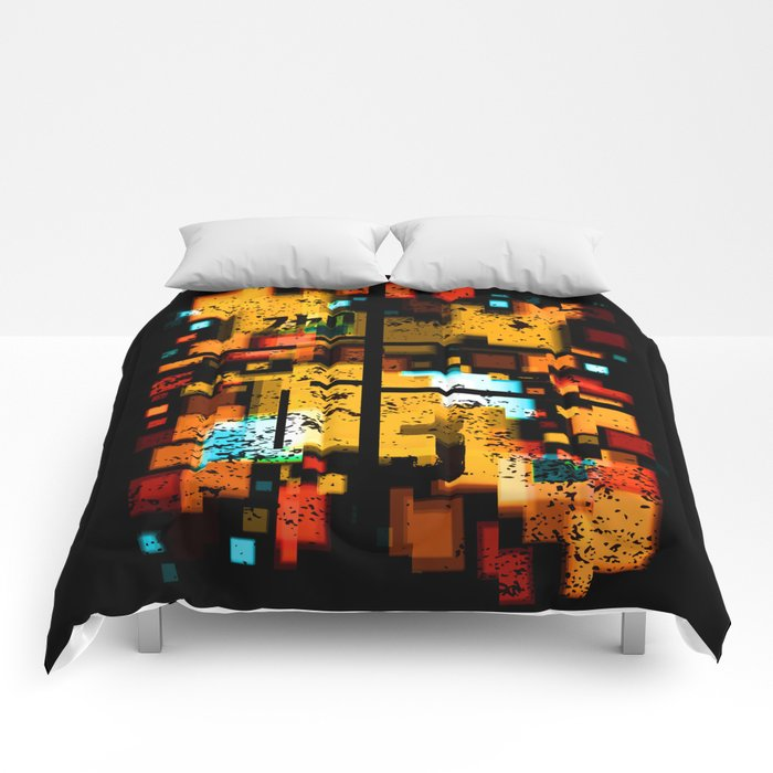Abstract Composition #3 Comforters