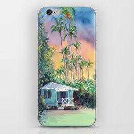 Dreams of Kauai Plantation Cottage iPhone Skin