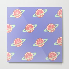 Planet Fruit: Grapefruit | pulps of wood Metal Print