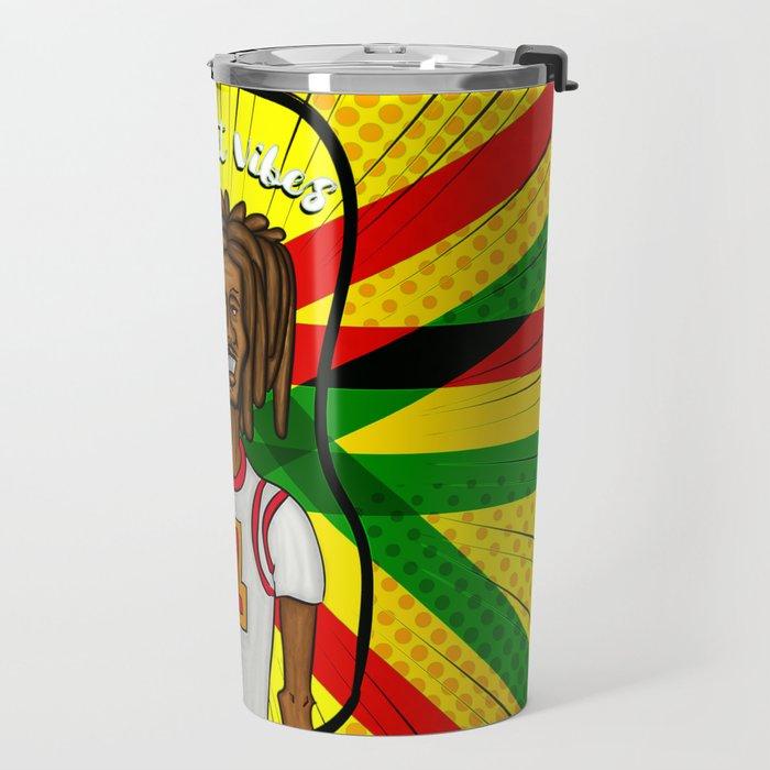 Rasta basket vibes Travel Mug