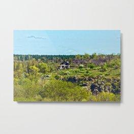 House on the island Metal Print