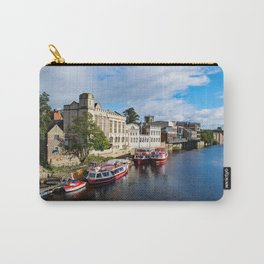 York City Guildhall and river Ouse Carry-All Pouch