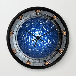 Gate of the Gods Wall Clock