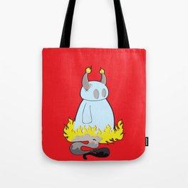 Devil Don't Care Tote Bag