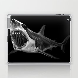 Great White Shark Laptop & iPad Skin
