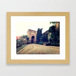 At the Gate Framed Art Print