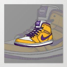 J1-Lakers Canvas Print