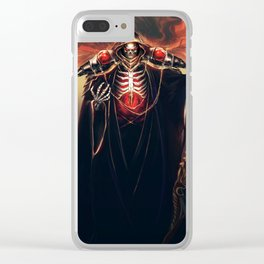 The Sorcerer King - Overlord Clear iPhone Case