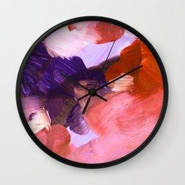 abstract painting V Wall Clock