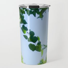 Green Tendrils Travel Mug