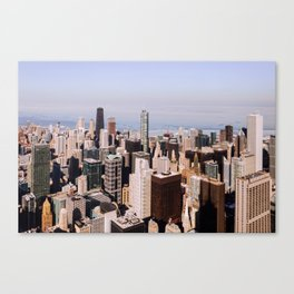 Sweet Home Chicago Canvas Print