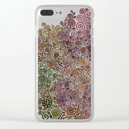 Rose is a rose is a rose.. Clear iPhone Case
