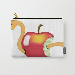 worm in apple Carry-All Pouch