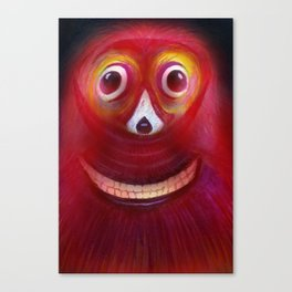 Red Ghost Canvas Print