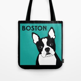 Boston In Abstract Tote Bag