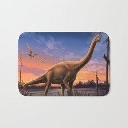 Jurassic Dinosaurs Bath Mat