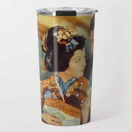Madame Butterfly Movie Print Travel Mug